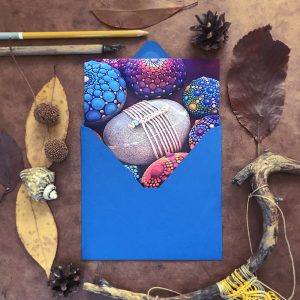 "Postkarte ""Magic Knots and Dots"""
