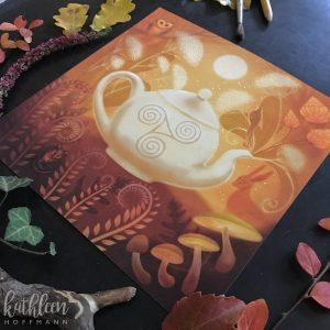 """""""Woodland Fairytale"""" 20×20 cm"""