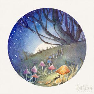 """Fairy Circle"" 20×20 cm"